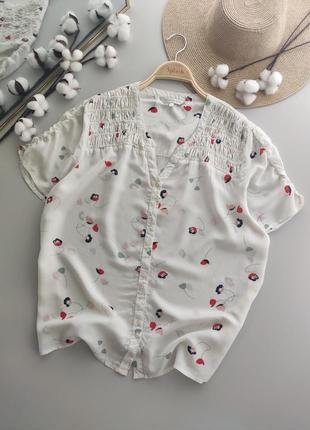 Лёгкая, натуральная блуза