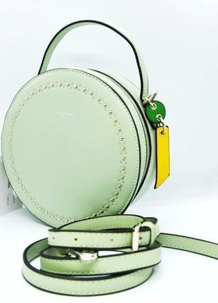 David jones сумка кроссбоди клатч через плечо мята td021