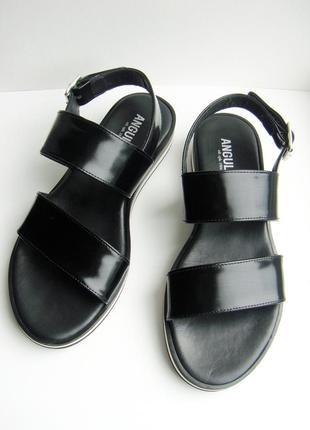 Новые сандали (босоножки, шлепанцы) люкс брэнд angulus. полностью из натуральной кожи.