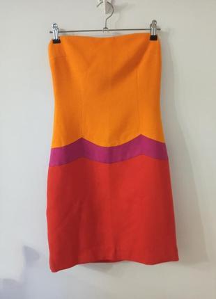 Дизайнерское платье-бюстье