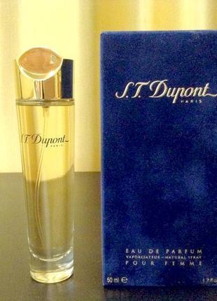 Dupont pour femme edp винтаж 1998г оригинал_eau de parfum 5 мл затест