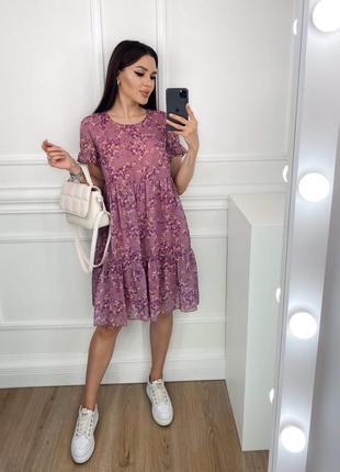 Женское платье шифон