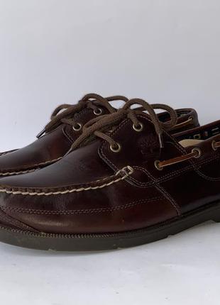 Топсайдери туфлі timberland розмір 45 (10,5) устілка 29,5 см оригінал