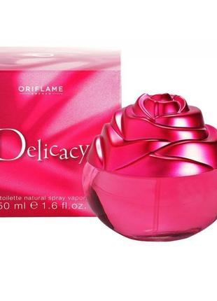 Туалетная вода delicacy от oriflame. раритет