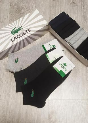 Набор носков lacoste из 12 пар (низкая посадка)