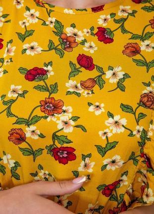 Купить платье женское цвет горчичный недорого5 фото