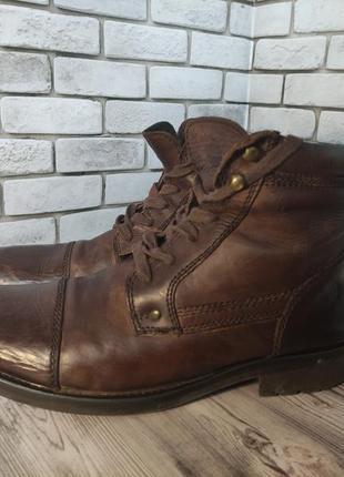 Кожаные ботинки ikon