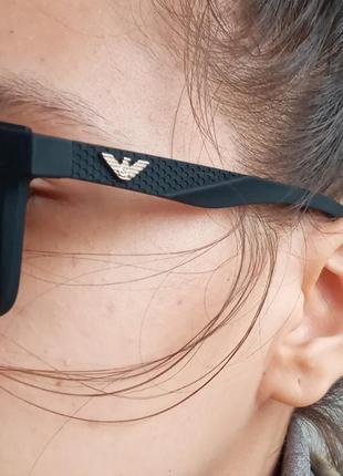 Стильные качественные необычные очки в стиле вайфареры италия polarized унисекс
