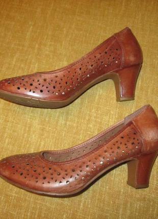 Летние кожаные туфли hotter