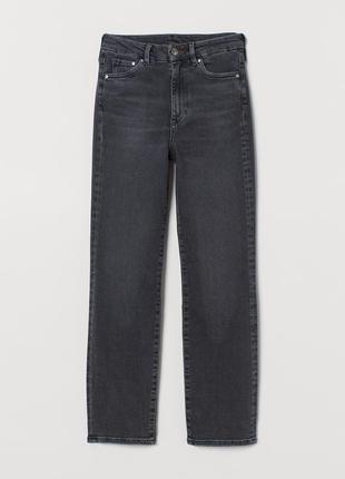 H&m джинсы с завышенной талией embrace slim high ankle