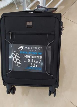 Ручная кладь,маленький очень легкий чемодан airtex