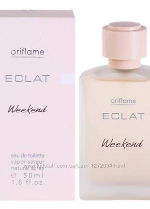 Туалетная вода eclat weekend от oriflame. раритет