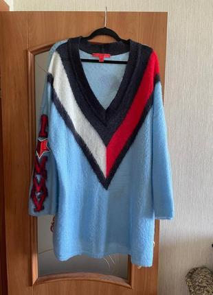 Oversize свитер hilfiger collection