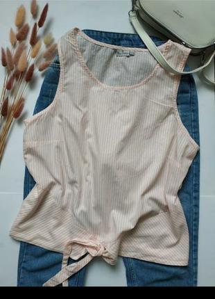 Хлопковая майка, лёгкая блуза на лето