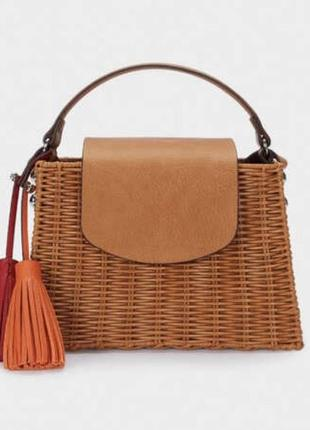 Плетеная сумка parfois