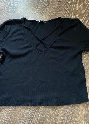 Топ,футболка,с верёвками