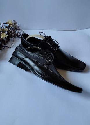 Туфли кожаные итальянские  новые
