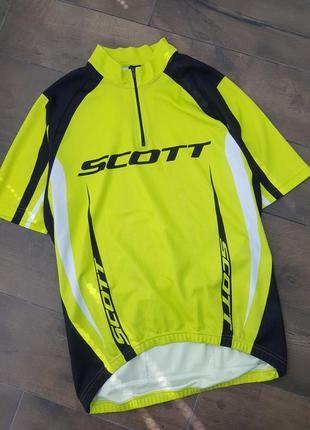 Вело футболка джерси scott