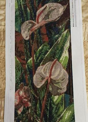 Картина ручная работа алмазная мозаика
