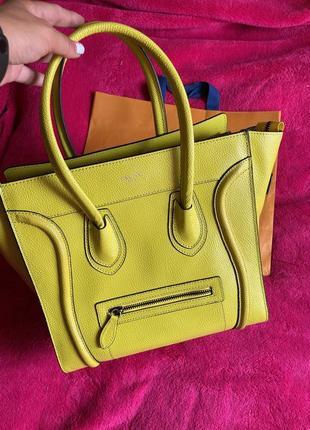 Celine 🔥🔥кожаная сумка