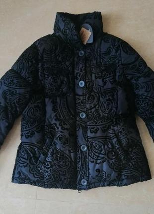 Куртка desigual исп. 44 l - xl деми зима силикон летняя цена