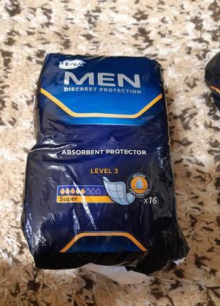 Tena men level 3 13шт урологические гигиенические прокладки