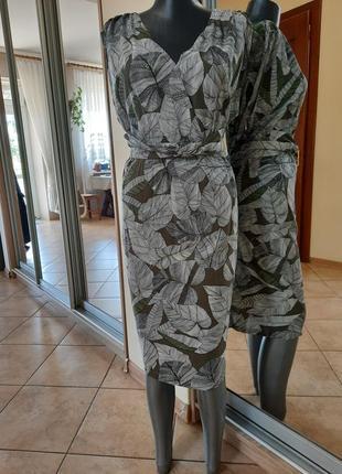 Вискозное платье 👗большого размера