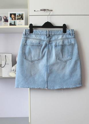 Джинсовая мини юбка от new look3 фото