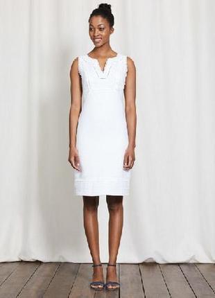 Платье льняное лен