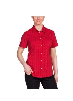 Женская трекинговая рубашка jack wolfskin w centaura stretch vent shirt - xl