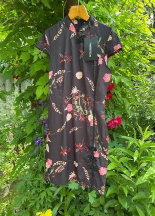 Платье в китайском стиле кимоно сукня китайська