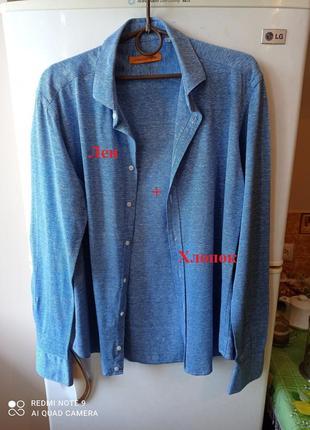 Стильная рубашка от бренда iannalfo & sgariglia, италия