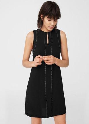 Черное платье zara