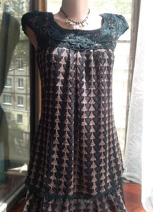 Вечернее платье туника