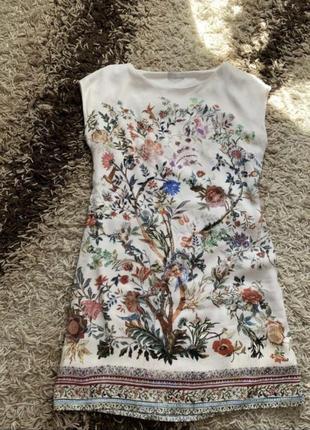 Шикарна сукня в квітковий принт. летнее платье.