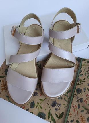 Женские сандали кожа босоножки кожаные сандалии