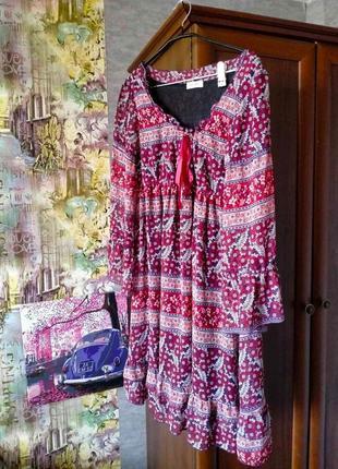 Orsay яркое летнее платье размер м или л