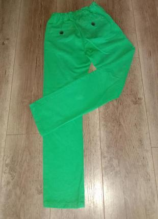 Джинсы (зелёные)