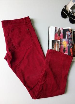 Микро-вельветовые джинсы винного цвета 🌹🌹🌹360