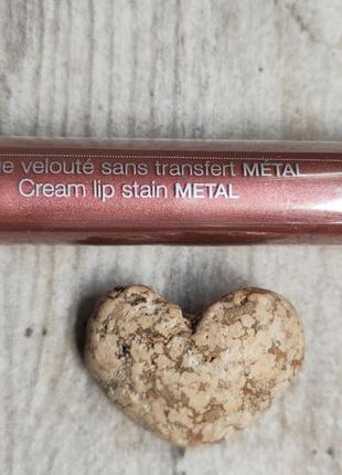 Помада sephora cream lip stain metallic 61