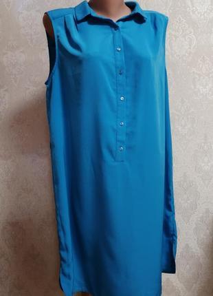 Платье рубашка р. 16-18 george