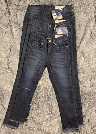 Скини-джинсы для девочки pepperts