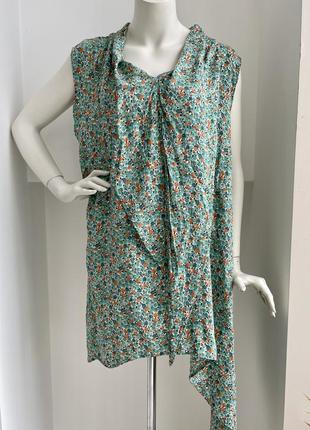 Niederberger легкая воздушная оверсайз удлинённая блуза туника платье батал большой размер