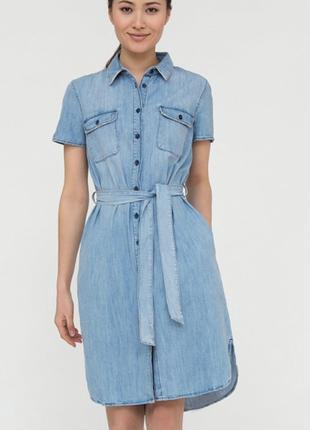 Платье- джинс