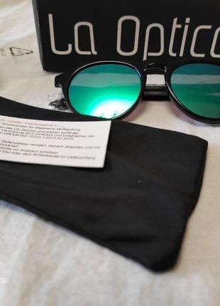 """Зеркальные, солнцезащитные очки бренда """"la optica"""", германия"""