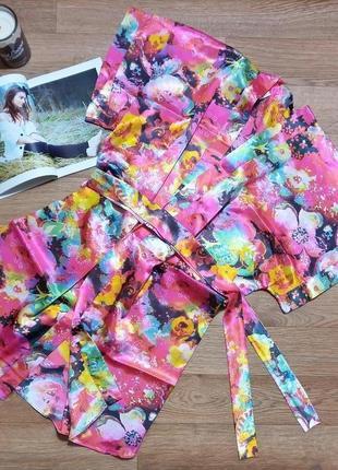 Шелковый халат 13015 angelica mini