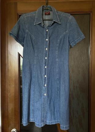 Платье на пуговицах universal authentic jeanswear