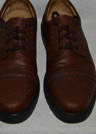 Мужские туфли fretzmen 27.5 см 43 размер кожа швейцария