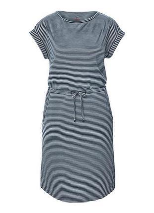 Комфортное , повседневное платье с карманами dryactive plus tcm tchibo германия