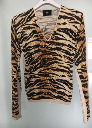 Легкий шелковый женский свитер. d&g